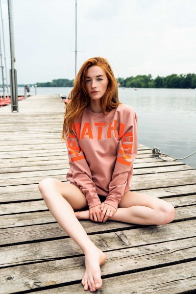 Sweatshirt Dusty Pink/Orange