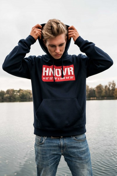 Hoodie 'Hannover 03' French Navy